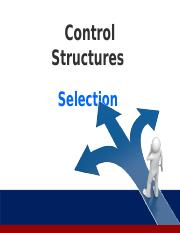 Week 5 6 7 _Selection_Control_Structures_Stud