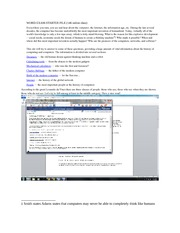 Computer Application Word Assigment 8