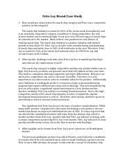 frito lay sun chips case study analysis