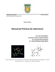 Manual de prácticas de laboratorio de Química General 2013-1.pdf.pdf