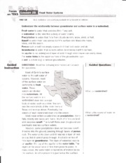 10-01 Fresh Water Systems Worksheet