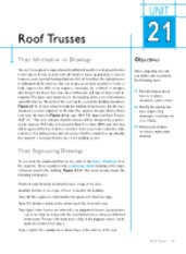 Unit 21 Roof Trusses