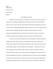 Sula and nel friendship essay