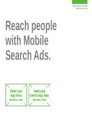 Mobile - Search Ads