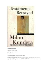 Milan Kundera - Testaments Betrayed_ Essay in Nine Parts, An (1996).pdf