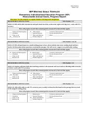 KEY EDU 521IEP_Writing_Goals_Amy Nichols