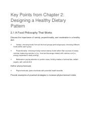 Nutrition chapter 2.docx