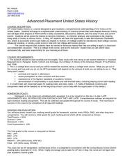 AP United States History Syllabus Development Guide