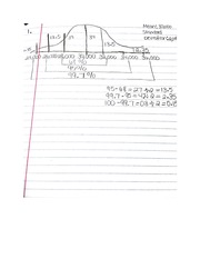 Mean and Standard Deviation Problem