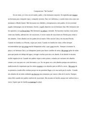 High School Essay Help  Pages Spain Essay Composition Mi Familia Essay In English For Students also Importance Of English Language Essay Spanish  Santa Teresa High Santa Teresa  Course Hero How To Write A Research Essay Thesis