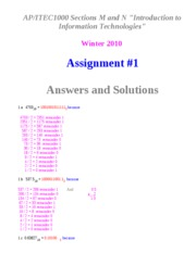 AssignmentITEC1000_1AnswersWinter2010