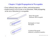 EEE 537 L6  Light Propagation in Waveguides
