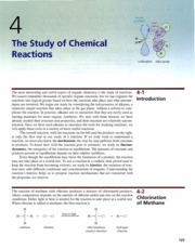 Ch 4 - The Study of Chemical Reactions