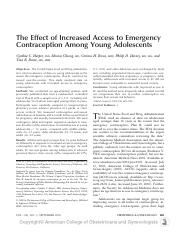 Harper-Effects of increased access to emergency contraception among young adolescents.pdf