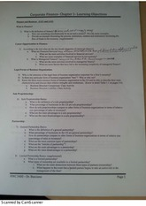 Finance and Business Worksheet