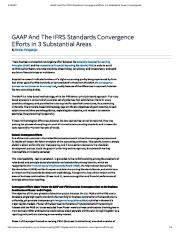 GAAP And The IFRS Standards Convergence Efforts In 3 Substantial Areas _ Investopedia.pdf