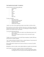 sex and gender study guide