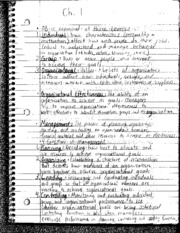 Chapter 1 Book Notes: 3 levels of Business Organization