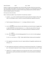 Advanced Calculus  Test 3 2013
