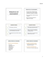 Principles of Assessment and Screening 6 slide