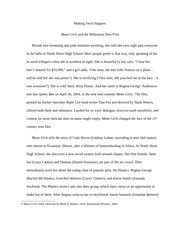 Mean Girls - Final Paper
