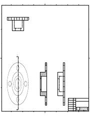 Shaft Support (12-45) drawing