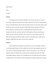 two kinds essay sanogo catannian engl liane lemaster two  2 pages journal 5