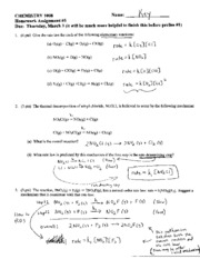 answers Homework 5 (Elementary&SteadyState)