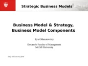 MGPO 434 W2016 Session02 BM & strategy, BM components
