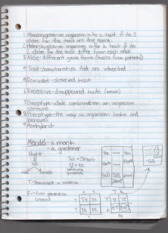 Lecture 8 Notes Biology