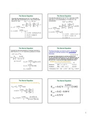 UNIT 3 Electrochemistry answers part 2&3