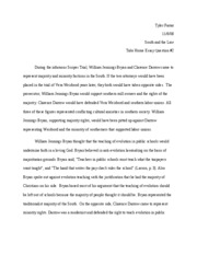 Southern law take home essay2