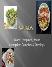 Salads culn 149 topic 3