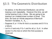 MATH 1780 Lecture Notes Chapter 3 Section 5 and 6