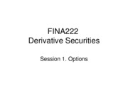 Derivatives09-1 - Options