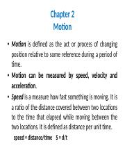 Chapter 2- Motion(1).pptx