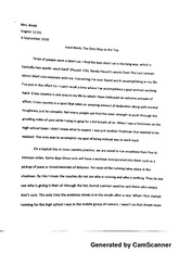English Essay Topics English The Last Lecture Essay  Generated By Camscanner Generated By  Camscanner Generated By Camscanner Purpose Of Thesis Statement In An Essay also English Essay Question Examples English The Last Lecture Essay  Generated By Camscanner Generated  Compare And Contrast Essay Topics For High School
