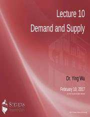 z10_demand and supply  yw s2017_after class