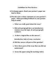 Guidelines for Peer Reviews (1).doc