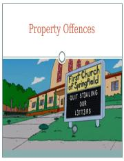 Property Offences 2016.pptx