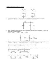 11a-Circuits MC practice problems