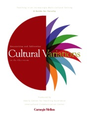 CMU (nd) recognizing & addressing cultural variations in the classroom