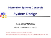 lecture 14 on Information systems Concepts