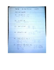 Assignment on 2.1 2.2 Pre Algebra