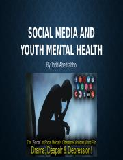 Social Media and Youth Mental Health.pptx