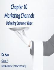 Ch10_Marketing Channel_Group 9
