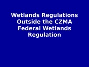 OCS 4465 4 Wetlands regulation