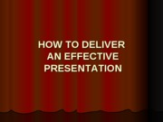 "Wonderful presentation on ""How to Give a Presentation"""