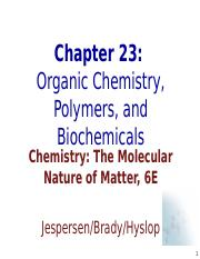 Ch23_Organic_Polymers_and_Bichemicals.ppt