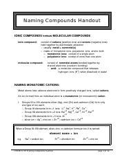 Naming Compounds Handout.pdf - Naming Compounds Handout ...